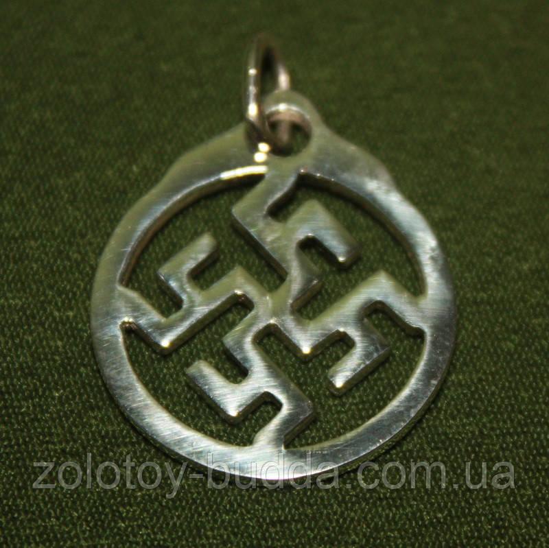 Цветок Папоротника серебро