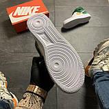🔥 ВИДЕО ОБЗОР 🔥 Nike Air Force 1 High Green White Белый Найк Аир Форс 1 🔥 Найк мужские кроссовки 🔥, фото 6