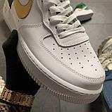 🔥 ВИДЕО ОБЗОР 🔥 Nike Air Force 1 High Green White Белый Найк Аир Форс 1 🔥 Найк мужские кроссовки 🔥, фото 4