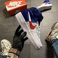 🔥 ВИДЕО ОБЗОР 🔥 Nike Air Force 1 High Violet White Белый Найк Аир Форс 1 🔥 Найк мужские кроссовки 🔥
