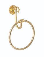 Держатель для полотенец кольцо(латунь)Versace