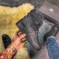 🔥 ВИДЕО ОБЗОР 🔥 Nike Air Force Special Field Black Белый Найк Аир Форс 1 🔥 Найк мужские кроссовки 🔥