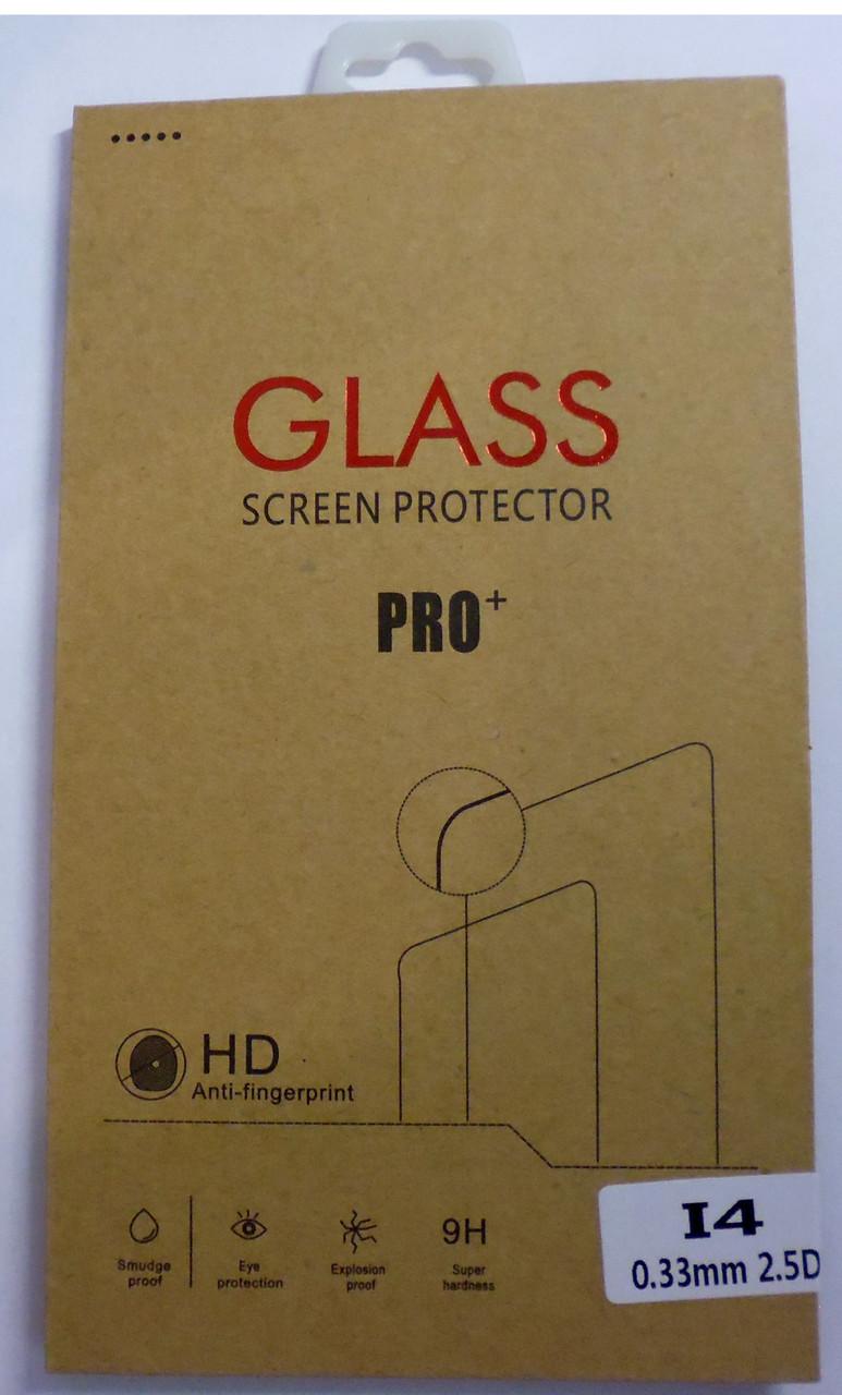 Защитное стекло для iPhone 4 0.33 мм
