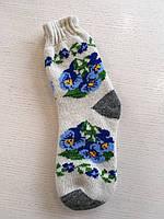 Шкарпетки зимові шерстяні кругові дорослі розмір 35-41