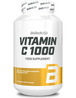 Витамины BioTechUSA Vitamin C 1000 mg, 250 tabl