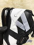 🔥 Nike Air Force 270 White Black Найк Аир 270 Черный Белый 🔥 Найк мужские кроссовки 🔥, фото 8