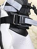 🔥 Nike Air Force 270 White Black Найк Аир 270 Черный Белый 🔥 Найк мужские кроссовки 🔥, фото 9