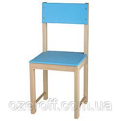 Детский стульчик деревянный ИГРУША 64 см Голубой