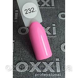 Гель лак Oxxi Professional 8 мл 232 Нежный розовый
