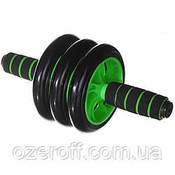 Ролик для пресса AB Wheel (0873) Зеленый