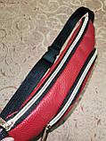Женская сумка на пояс искусств кожа только оптом, фото 3