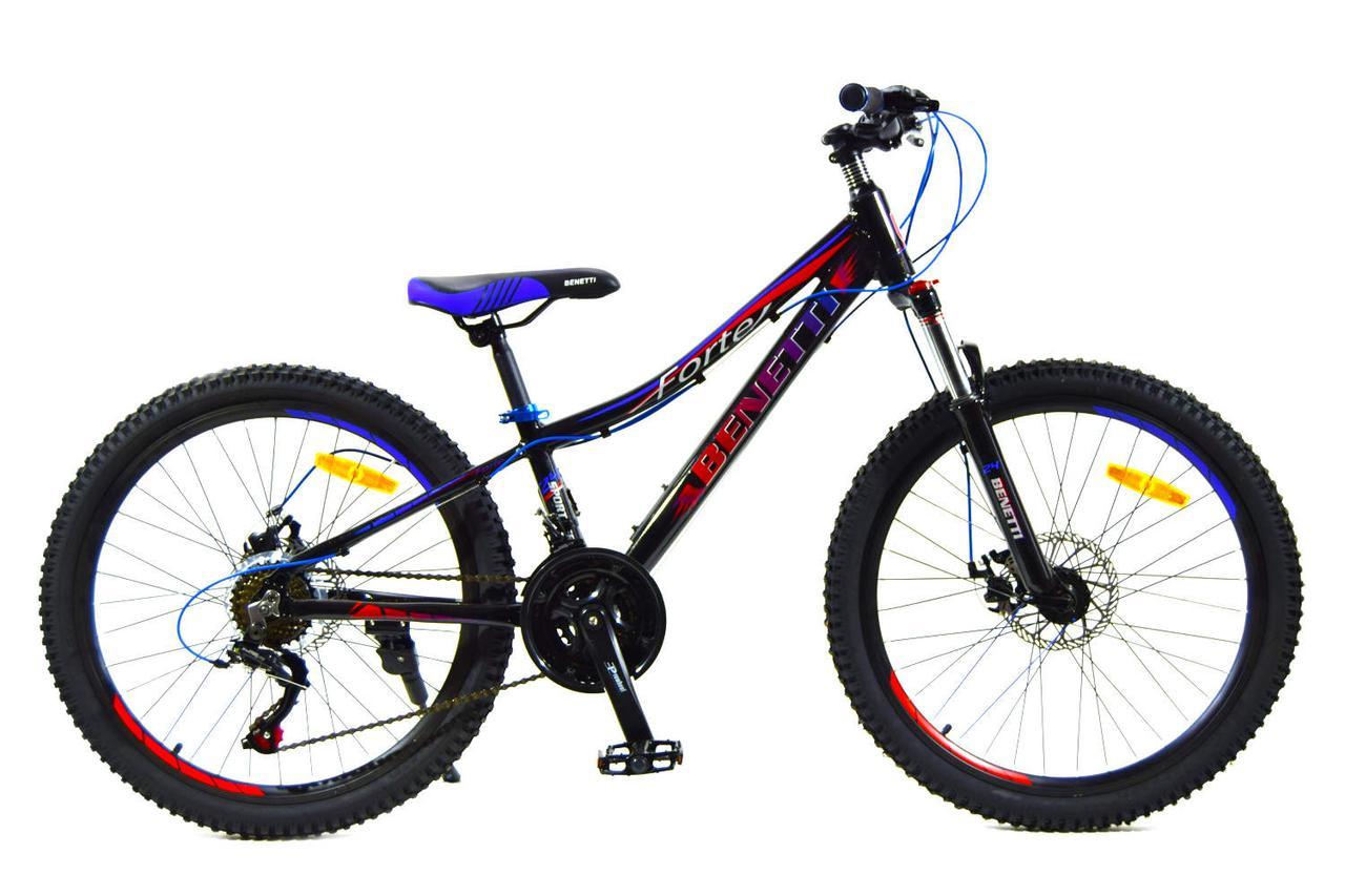 Горный алюминиевый велосипед Benetti 24 Forte DD Al