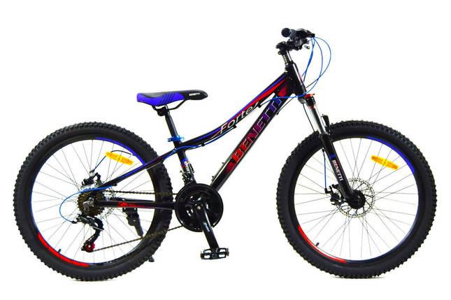 Горный алюминиевый велосипед Benetti 24 Forte DD Al, фото 2