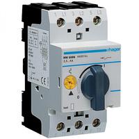 Автоматический выключатель для защиты двигателя, Iуставки=0,1-0,16А, Hager (MM501N)