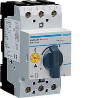 Автоматический выключатель для защиты двигателя, Iуставки=0,24-0,4А,  Hager (MM503N)