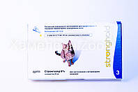 Стронхолд капли для котов 2,5-7,5 кг 1 пипетка