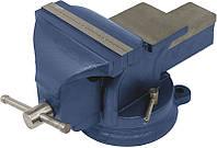 Тиски слесарные поворотные 100 мм Miol 36-200