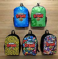 Рюкзак подростковый тканевый Stars 36*30 Irina Bag