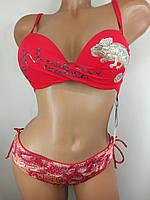 Красный купальник Игуана на 44 размер.