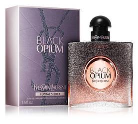 Yves Saint Laurent Black Opium Floral Shock Парфюмированная вода 90 ml YSL EDP (Ив Сен Лоран Блек Блэк Опиум)