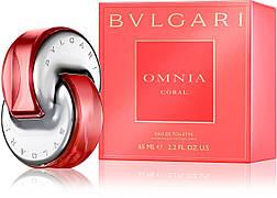 Bvlgari Omnia Coral Туалетная вода 65 ml EDT (Булгари Омния Корал) Женский Парфюм Аромат Духи Парфюмерия EDP
