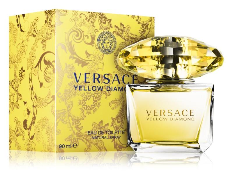 Versace Yellow Diamond Туалетная вода 90 ml EDT (Версаче Желтые Желтый Брилиант Даймонд) Женский Парфюм