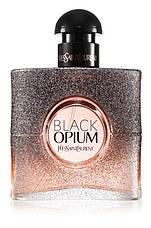 Yves Saint Laurent Black Opium Floral Shock Парфюмированная вода 90 ml YSL EDP (Ив Сен Лоран Блек Блэк Опиум), фото 3