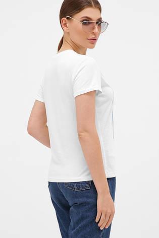 GLEM голубой-Пионы розовые футболка Boy-2, фото 2