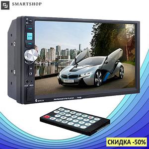 Автомагнитола 2DIN MP5 7010B + Bluetooth - магнитола 2 ДИН с экраном 7 дюймов, магнітола в авто (s172)