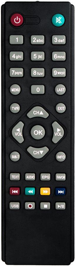 Пульт для телевизионного тюнера Digiline GHB-898