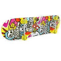 Скейтборд в сборе (роликовая доска) HB381