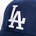 Кепка бейсболка в стиле LA (Лос-Анджелес) Синяя, Унисекс, фото 7