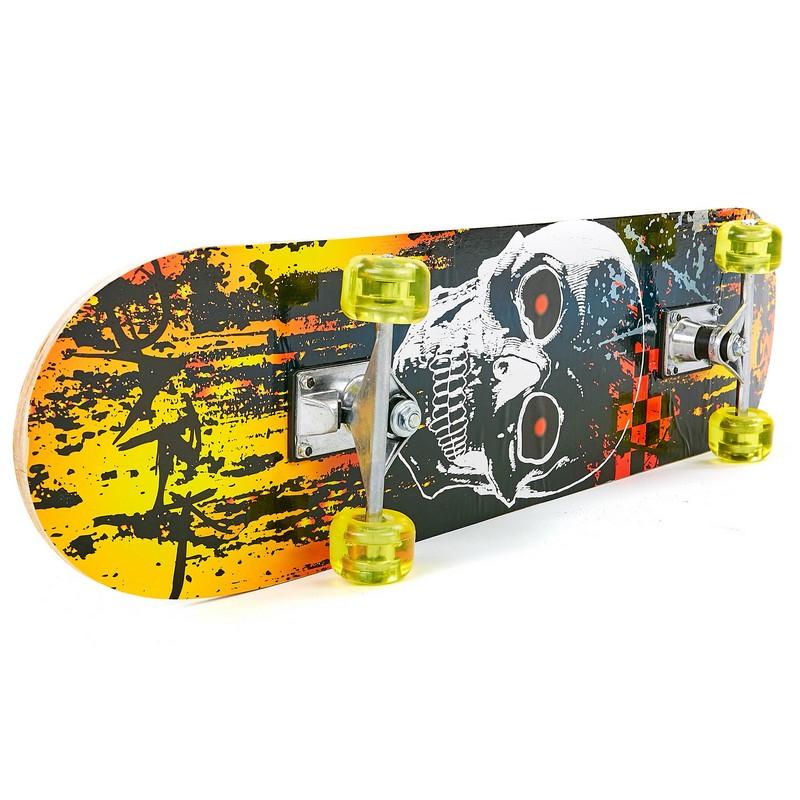 Скейтборд в сборе (роликовая доска) HB329