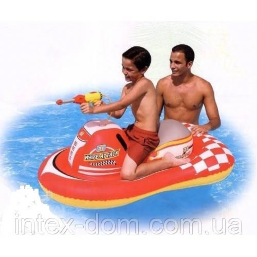 Надувной скутер Bestway 41071 с водным пистолетом