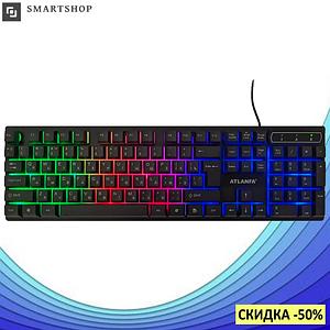 Игровая клавиатура с подсветкой Atlanfa AT-6300