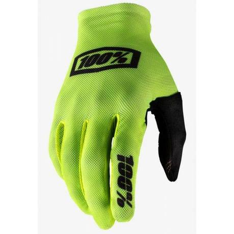 Вело перчатки Ride 100% CELIUM Gloves [Fluo Eyllow], M (9), фото 2