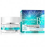 Крем Eveline Cosmetics Увлажняющий Крем Против Первых Морщин Hyaluron Clinic B5 30+ 50 мл (97888)