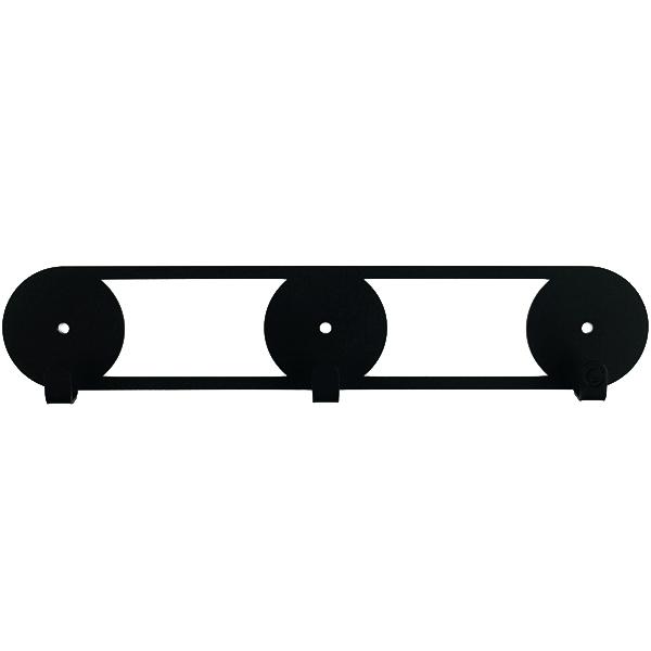 Крючки настенные Glozis Orbis Black H-079 25 х 5см