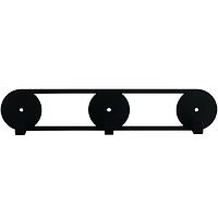 Крючки настенные Glozis Orbis Black H-079 25 х 5см, фото 1