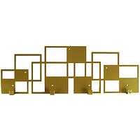 Вешалка настенная Glozis Bau Bronze H-075 50 х 17см, фото 1
