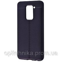 Ultimate Experience Leather (TPU) Xiaomi Redmi Note 9 black