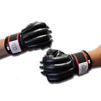 Боксерские перчатки снарядные черные М, L, XL