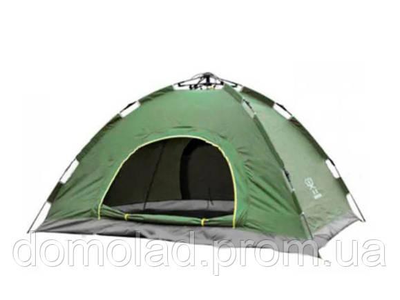 Палатка С Автоматическим Каркасом Двухместная Зеленая Палатка Размер 2x1,5 Метра
