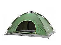 Палатка С Автоматическим Каркасом Двухместная Зеленая Палатка Размер 2x1,5 Метра, фото 1