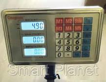 Торговые Весы до 150кг на Аккумуляторе с Металлической Головой Электронные, фото 3