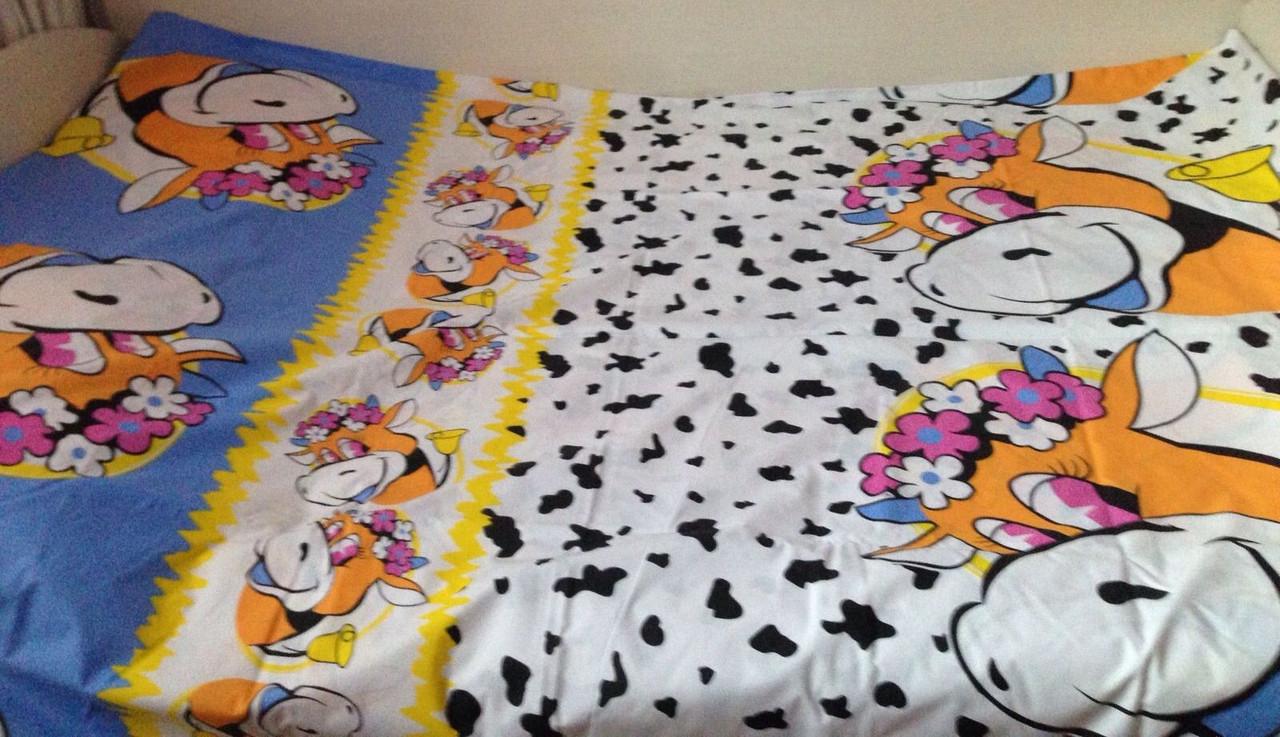 Комплект постельного белья детский Коровка
