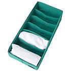 Коробочка для зберігання шкарпеток/колгот/ременів (блакить), фото 3