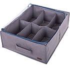 Органайзер для зберігання взуття на 6 пар (сірий), фото 4