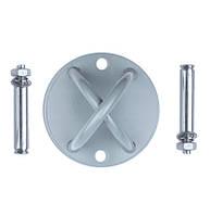Крепление для петель и канатов 4FIZJO X-Mount серый 4FJ0136 SKL41-249478