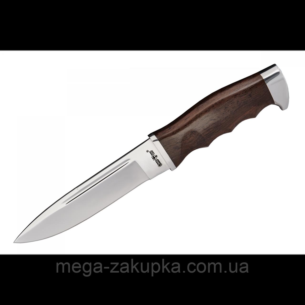 Нож нескладной с деревянной рукояткой + чехол, отличный подарок мужчине